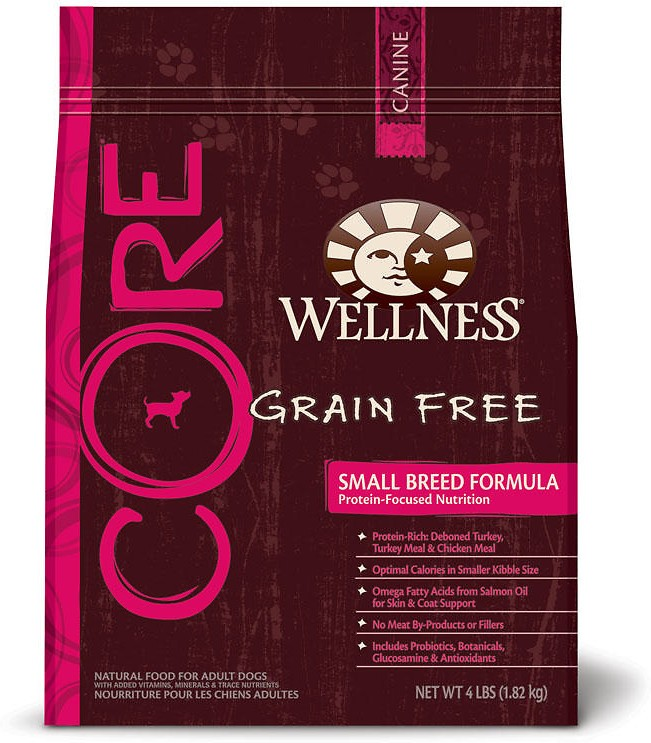 Wellness Core Grain Free Small Breed Formula Dry Dog Food