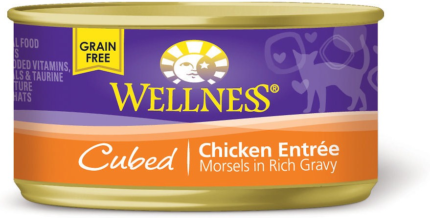 Wellness Cubed Chicken Cat Food